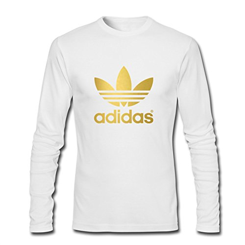 Klein CO Adidas Gold Logo Men's Long Sleeve T-Shirt