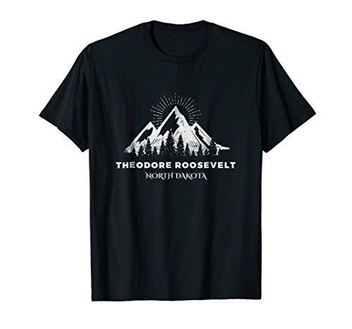 Theodore Roosevelt Park Shirt, Camping North Dakota Gift ()