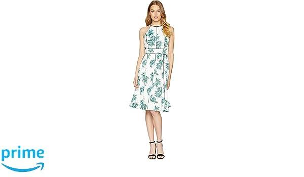 81020992f7a3 Amazon.com: Adelyn Rae Womens Mina Halter Fit & Flare: Clothing