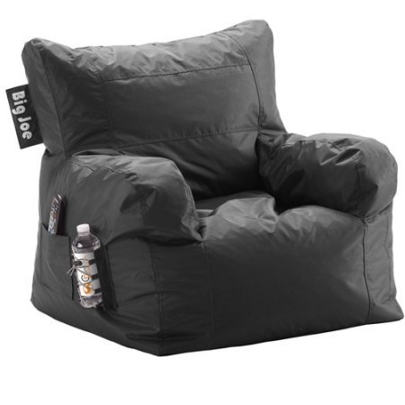 Give Your Room a Modern Yet Still Cozy Touch with This Bean Bag Chair (Black)
