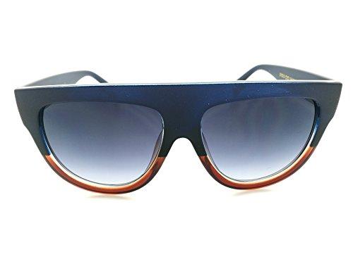 Aoligei Hommes et femmes personnalité de lunettes de soleil fashion du nez sans armature ronde frame lunettes de soleil lunettes de soleil style rétro QpRu7aDo