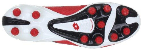 Lotto Sport FUERZAPURA III 100 FG Q2085 Herren Sportschuhe - Fußball Rot (RISK RED/WHITE)
