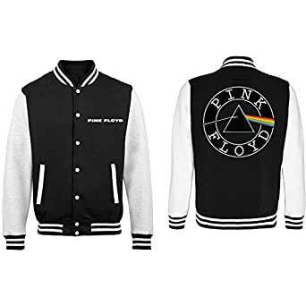 Official Pink Floyd Dark Side of the Moon Letterman Varsity Jacket - Unisex