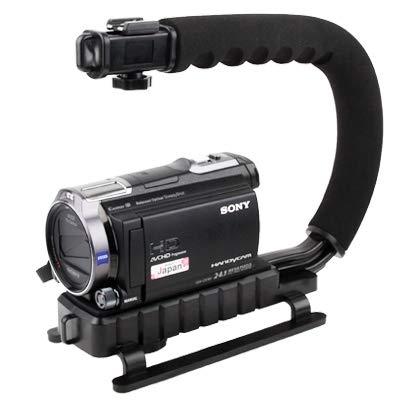 カメラアクセサリー CC-VH02 C型マウントホルダーハンドル デジタル一眼レフ/ビデオカメラDV対応   B07LBN7319