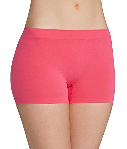 Maidenform Pure Genius Seamless Boyshort, 6, Panache Pink
