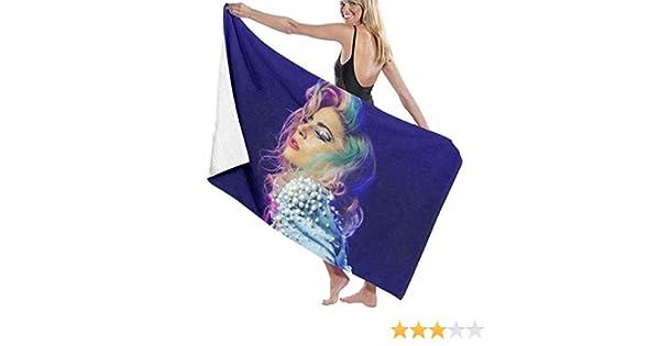 AGHRFH Lady Gaga - Juego de Toallas de Playa para baño: Amazon.es ...