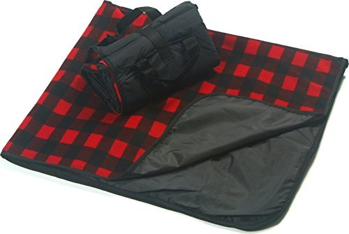 (CozyCoverz Outdoor Rainproof & Windproof Stadium Blanket/Picnic Blanket 50