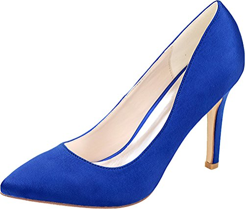 Donna Zeppa Salabobo Blu Sandali Blu Con 6E6ntxq