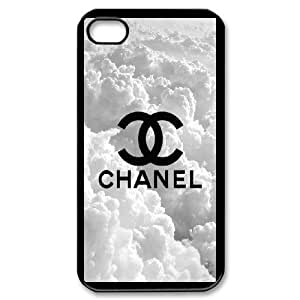 Custom Cover Case Fashion Chanel Time For iPhone 4,4S SXSWK948312