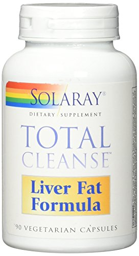 - Solaray Total Cleanse Liver Fat Formula VCapsules, 90 Count