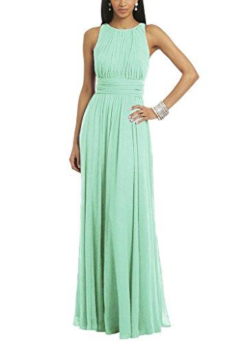 Buy light mint green bridesmaid dresses - 2