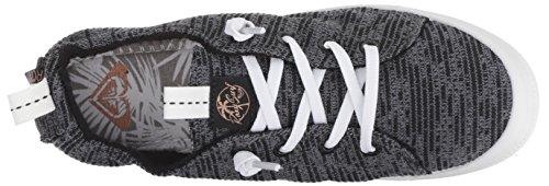 Roxy Women's Bayshore Sport Slip on Shoe Fashion Sneaker, Black, 8.5 M US by Roxy (Image #7)