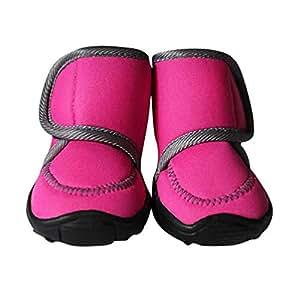 Amazon.com : Jim Hugh Dogs Shoes Waterproof Winter Spring Comfortable Non-Slip Warm Small Big