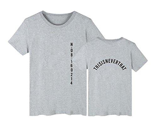 Bloom Gogofuture shirt Boys Maglietta Moda Classico Forever Floral T Grey4 Bangtan Top Young Bts Estive Kpop Donna xIrwx07C
