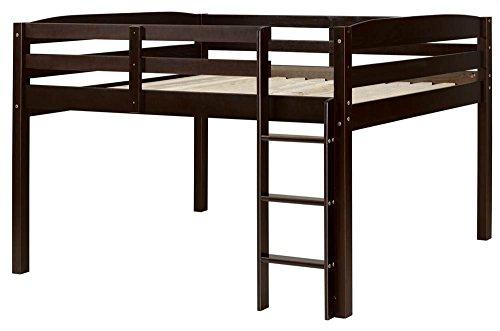Concord T1302 Junior Loft Bed, Twin, Cappuccino
