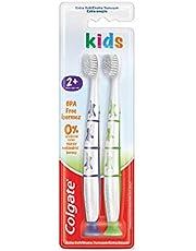 Colgate 2+ Yaş Ekstra Yumuşak BPA İçermeyen Çocuk Diş Fırçası 1 Paket (1 x 1 Adet)
