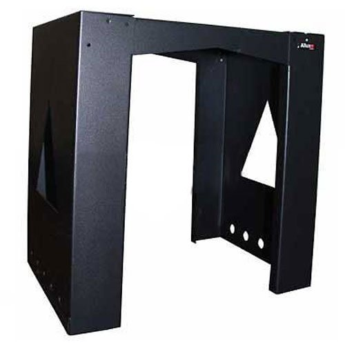 Qualarc MB-BL-BK Allux Series MailBoxes Mounting Base PL for 800 and 810 Mail/Parcel Boxes, Black