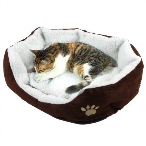Anself Casa para mascotas cómoda y suave Cama para perros de Gato para descansar dormir jugar