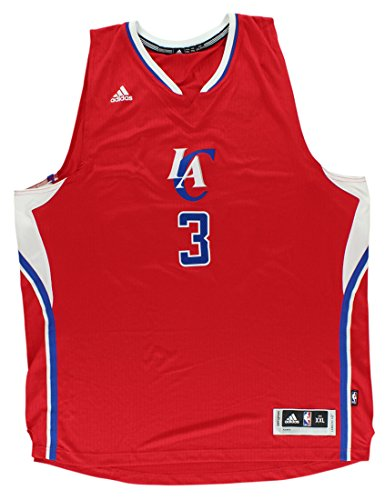 Chris Paul Los Angeles Cippers NBA Adidas Men's Red 2014 Christmas Day Swingman Climacool Jersey (2XL)