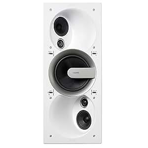 Jamo IW 606 SUR - Altavoces (Altavoces empotrados en pared/techo, 65 - 22000 Hz, 232 x 107 x 562 mm)