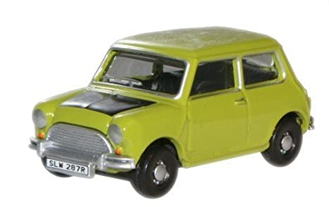 Amazon Com Oxford Classic Lime Green Mr Bean Mini Car 1 76 Railway