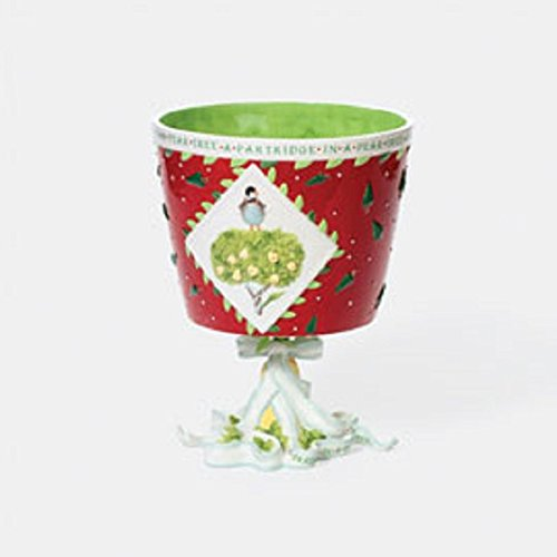 Krinkles by Department 56 Partridge In A Pear Tree Planter 56.36675
