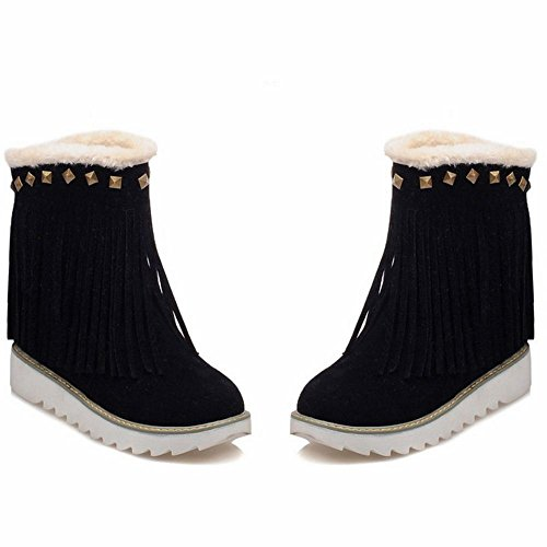 on Black COOLCEPT Slip Slip COOLCEPT Damenstiefel COOLCEPT Black Damenstiefel on twBSxB6q4W