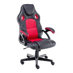 Play haha.Chaise de Jeu Chaise de Bureau Fauteuil pivotant Chaise d'ordinateur Ergonomie Chaise de conférenceSupport…