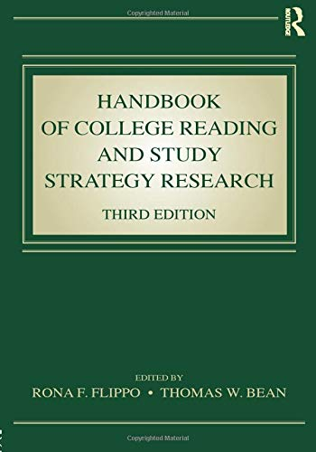 Handbook of College Reading and Study Strategy Research by Routledge
