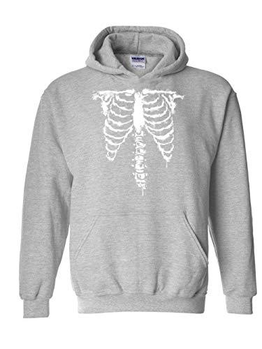 Mom`s Favorite Halloween Costume Skeleton Unisex Hoodie (SSG) Sport Grey -