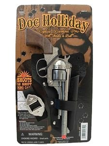 [Doc Holiday Holster Set] (Theatre Costume Closet)