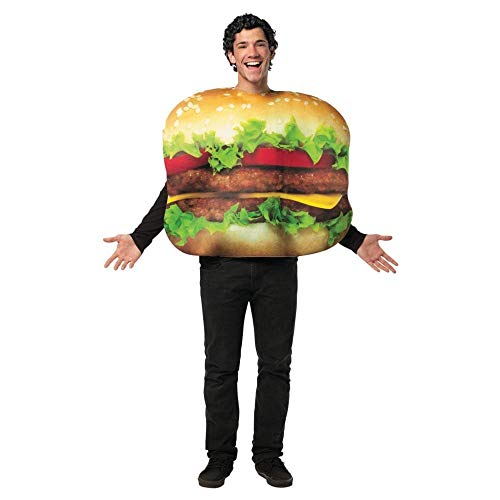 Get Real Cheeseburger Costume - One Size - Chest Size 48-52]()