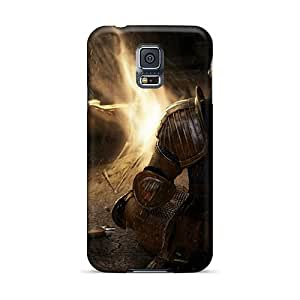 Excellent Hard Cell-phone Case For Samsung Galaxy S5 (Kfh1622PdOV) Unique Design Colorful Dark Souls Image