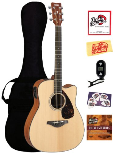 FGX700SC Cutaway Acoustic Electric Instructional Polishing