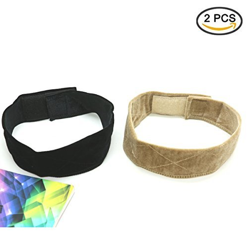 Pack Of 2 Velvet Wig Grip Band Adjustable Head Hair Band By IDS