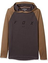 Fox Mens Tranzcribe Long Sleeve Lightweight Hooded Thermal Hooded Sweatshirt