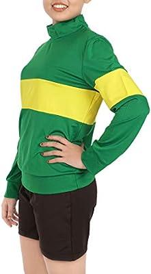 Camicia /& Pantaloni CoolChange Costume Cosplay di Chara di Undertale Taglia S