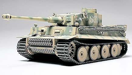 タミヤ 1/48 タイガーI初期生産型ダスライヒ (1/48 ミリタリーミニチュア(完成品):26505)