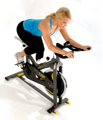 Stamina CPSIndoor Cycle (Black, Yellow) For Sale
