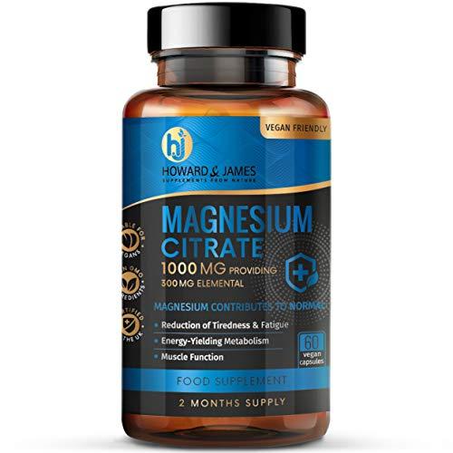 Magnesium-Citrate-1000mg-Providing-300mg-Elemental-per-Capsule-High-Strength-Vegan-Capsules-GMO-Free-Made-in-The-UK-by-Howard-James