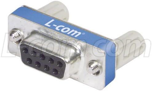 DB9 Female L-com DMA Series Slimline Serial Loopback Plug