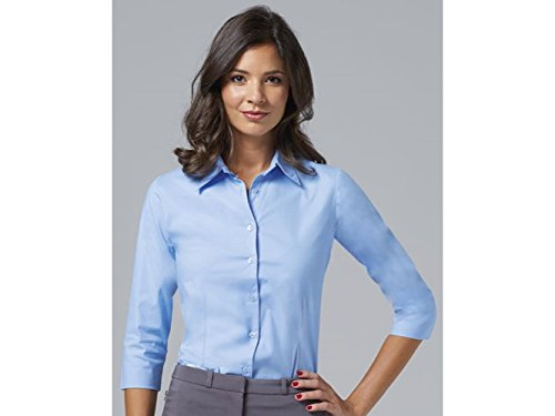 ATELIER DEL RICAMO - Camisa deportiva - para mujer azul claro