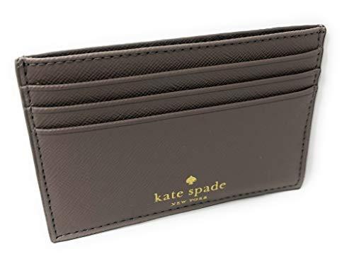 Kate Spade New York Graham Greta Court Wallet Business Credit Card Case Glitter City Scape