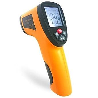 Ir sin contacto por infrarrojos termómetro Digital de la temperatura de medición de la temperatura dispositivo: Amazon.es: Amazon.es