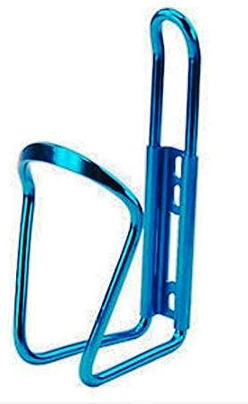 PORTABID/ÓN para Bici Bicicleta Aluminio Porta Botella BID/ÓN Color a Elegir Azul Rojo Plata O Negro