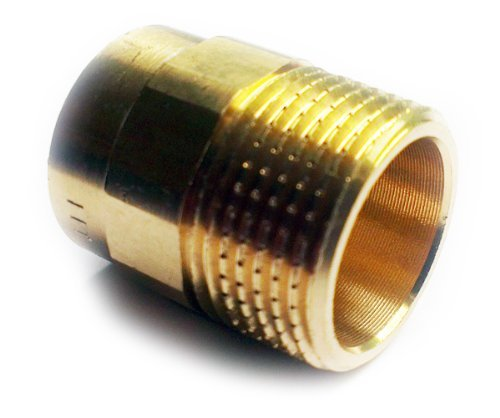 Brass plumbing fittings for solder with copper pipes mm