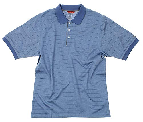 Reebok Mens Prestige Sports Athleitc Polo, Blue