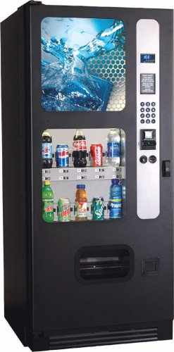 10 Select Can & Bottle Soda Drink Vending Machine