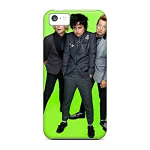Iphone 5c Kqk11868tref Unique Design Beautiful Green Day Band Pictures Shock Absorption Hard Phone Case -JonBradica
