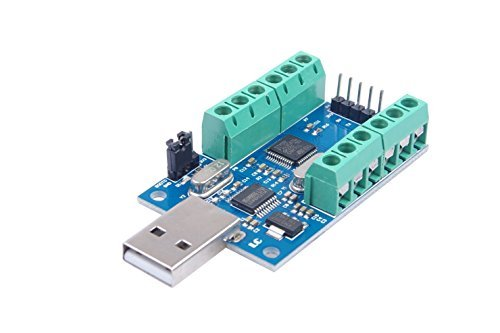 NOYITO USB 10-Channel 12-Bit AD Data Acquisition Module STM32 UART Communication USB to Serial Chip CH340 ADC Module